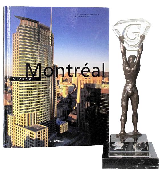 Livre récompensé Montréal vu du ciel