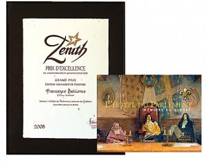 Zenit-Prix d'excellence